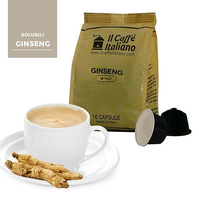 96 cápsulas de café compatibles Nescafé Dolce Gusto - Ginseng - 96 Cápsulas compatible con maquinas