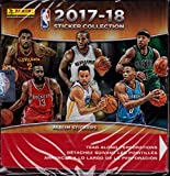 NBA All teams 2017/18 Panini Basketball Sticker Refill Box (50 Count), Small, Black