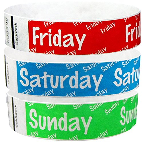 Goldistock Wristbands Variety Count Saturday product image