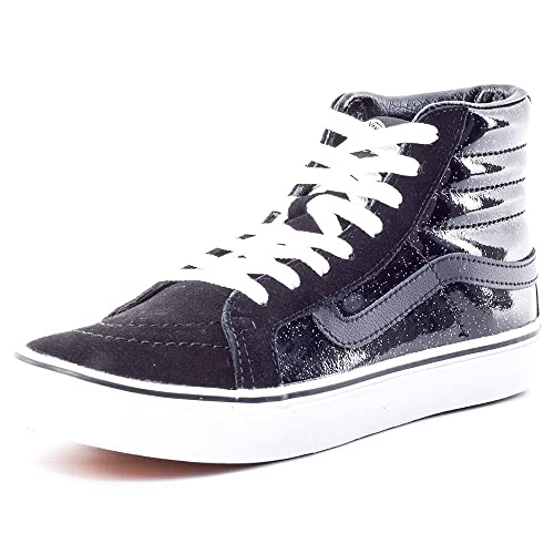 55d651d258 Vans Sk8-Hi Slim Sneaker (Patent Galaxy) Black True White