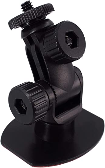Universal Tripod Permanent Holder Fits Sony//Canon//Ricoh//HP//GoPro//Oculus M4 M6 Screw Join Ball Included iSaddle CH01B 1//4 Thread Camera Mount Mini Double-Sided Adhesive in Dash Cam Mount Holder