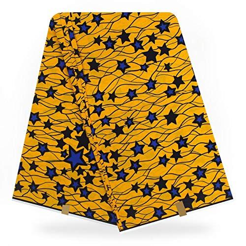 (Fabric African  Holland Wax Print Ankara Fabrics Hollandaise Wax Fabric 6yards Real Dutch Wax veritable Hollandais Dress FabricBy)