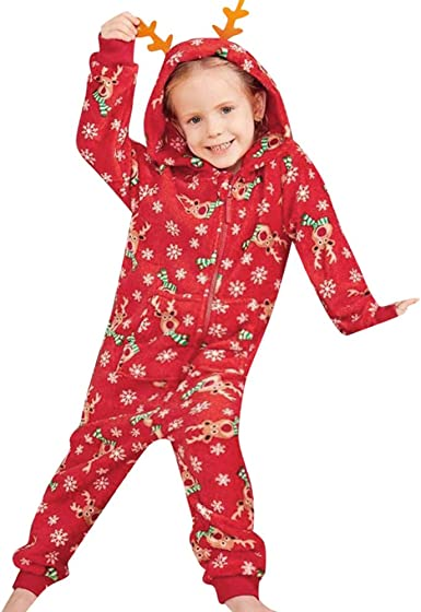 Fashion Baby Boy Girl Romper Jumpsuit Family Pajamas Sleepwear Halloween Outfits