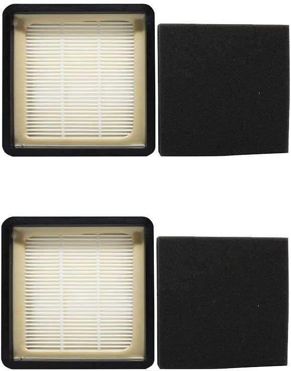 2 Pack of Replacement F66 Filter 304708001 for Dirt Devil - Compatible with Dirt Devil UD70105, F66, UD70100, UD70220, F59, UD70120, UD70110, UD70107, UD70105B