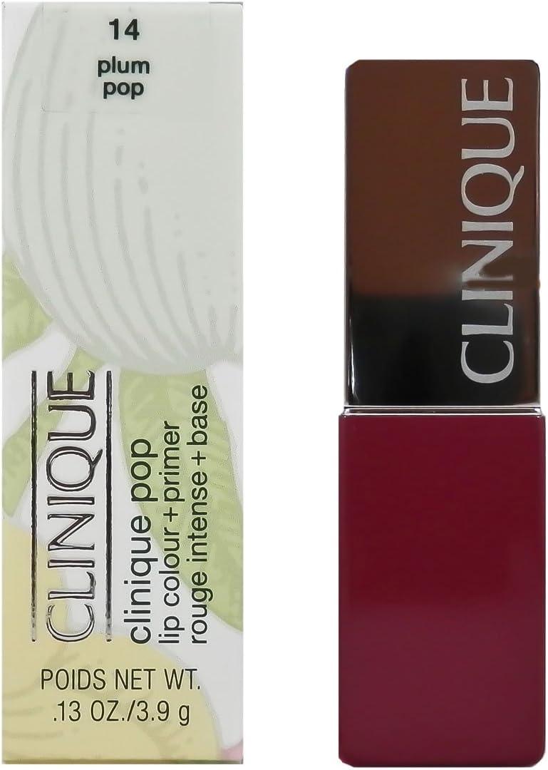 Clinique Pop Lip Colour + Primer, No. 14 Plum Pop, 0.13 Ounce