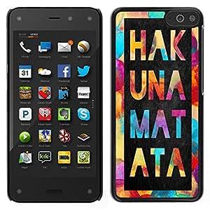 Dragon Case - FOR Amazon Fire Phone - Do more than other - Caja protectora de pl??stico duro de la cubierta Dise?¡Ào Slim Fit