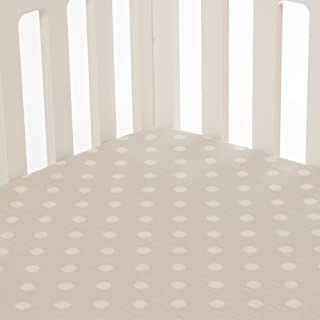 product image for Glenna Jean Fly-by Fitted Sheet, Grey Dot