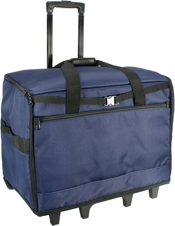 Azul Franja XL Máquina de Coser Bolso Trolley 63 x 43 x 30cm Birch ...