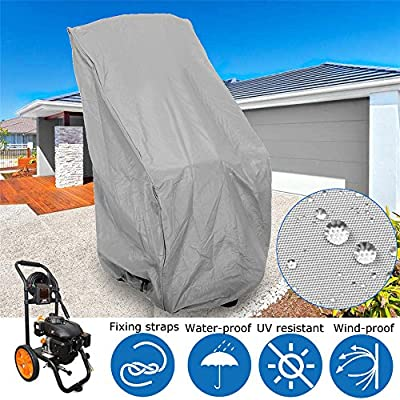 Pukido Polyester Fabric Grey WEN PW31C Universal Weatherproof Pressure Washer Cover