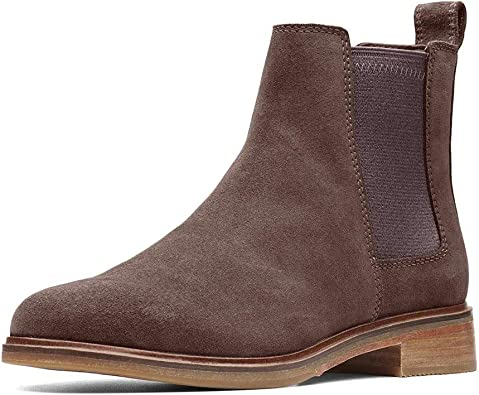 Clarks Clarkdale Arlo Taupe Suede 6.5