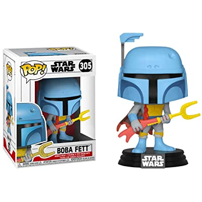 Funko Authentic Boba Fett Animated Pop! Star Wars GameStop Exclusive #305 [Pre-Order]: Toys & Games