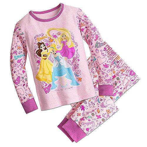 Disney Store Princess Pj (Disney Princess PJ Pals Pajamas Size 7)