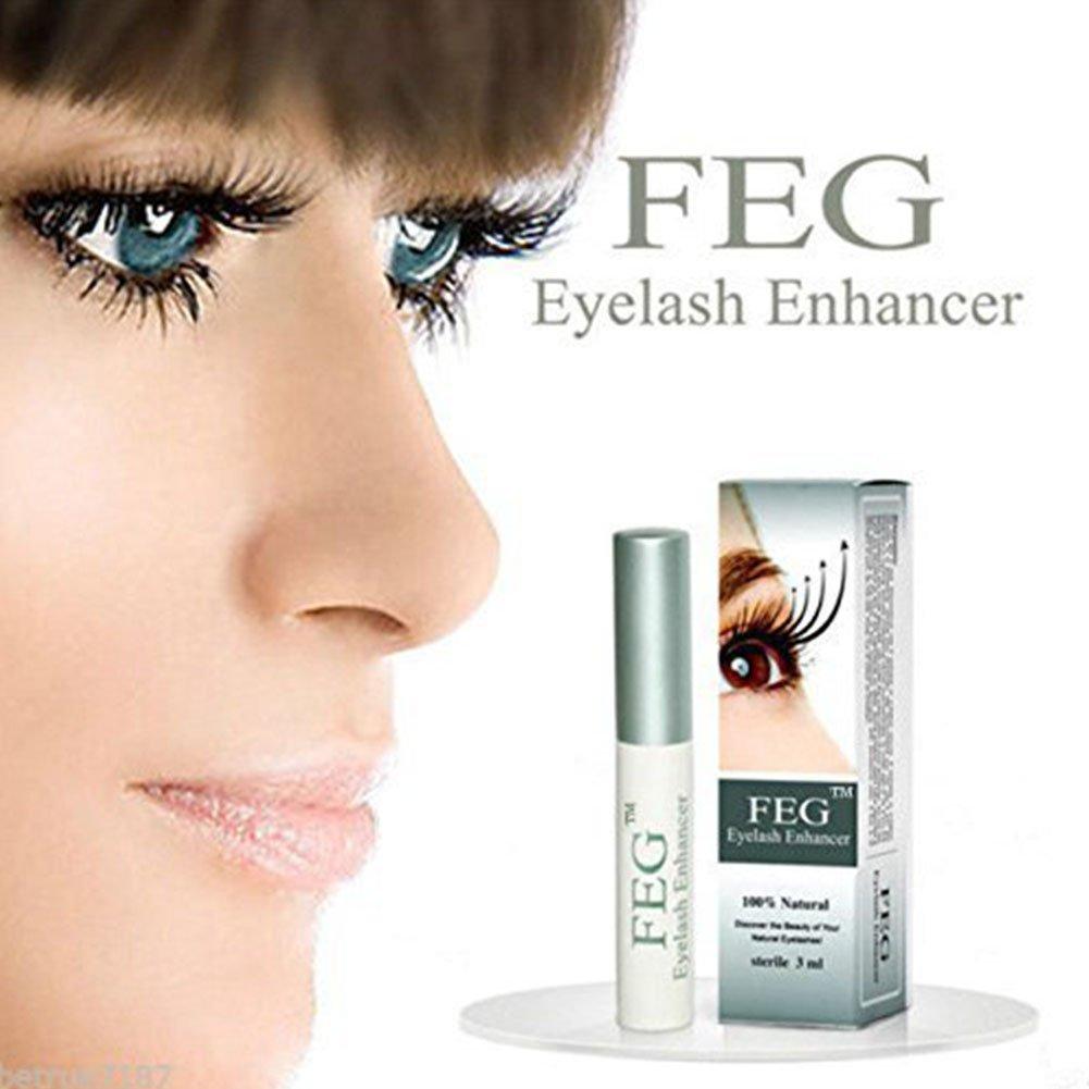 61c3d691fc8 Amazon.com: FEG Eyelash Enhancer Growth Liquid, BOYON Brow Serum for Long  Luscious Lashes and Eyebrows: Beauty