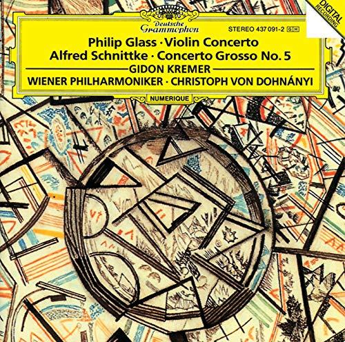 Glass Violin - Glass: Violin Concerto / Schnittke: Concerto Grosso