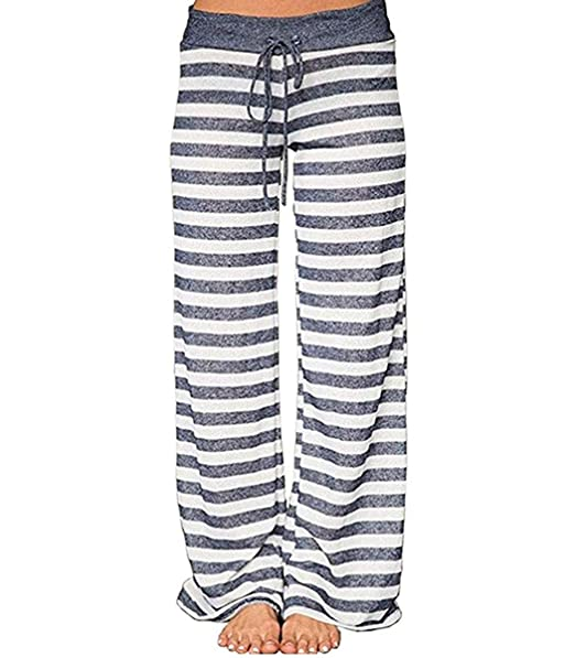 Amazon.com: Lananas - Pantalones largos para mujer, diseño ...