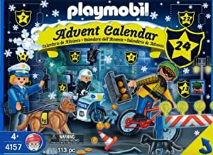Amazon.com: Playmobil Police Christmas Advent Calendar