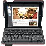 Logitech Type+ - Funda con teclado integrado para Apple iPad Air 2, texturizado, color rojo