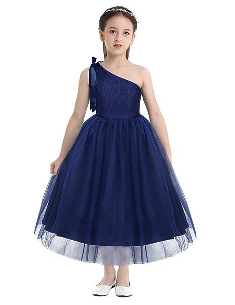 inlzdz Vestido de Fiesta Ceremonia Boda Niñas Vestido ...