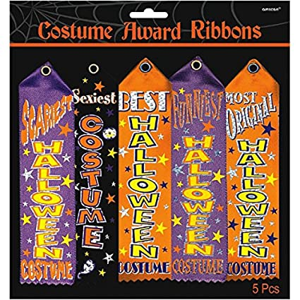 amazon com amscan costume award ribbon multi pack toys games