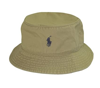 8f92a1fcf605f Amazon.com  Polo Ralph Lauren Men s Bucket Hat  Clothing