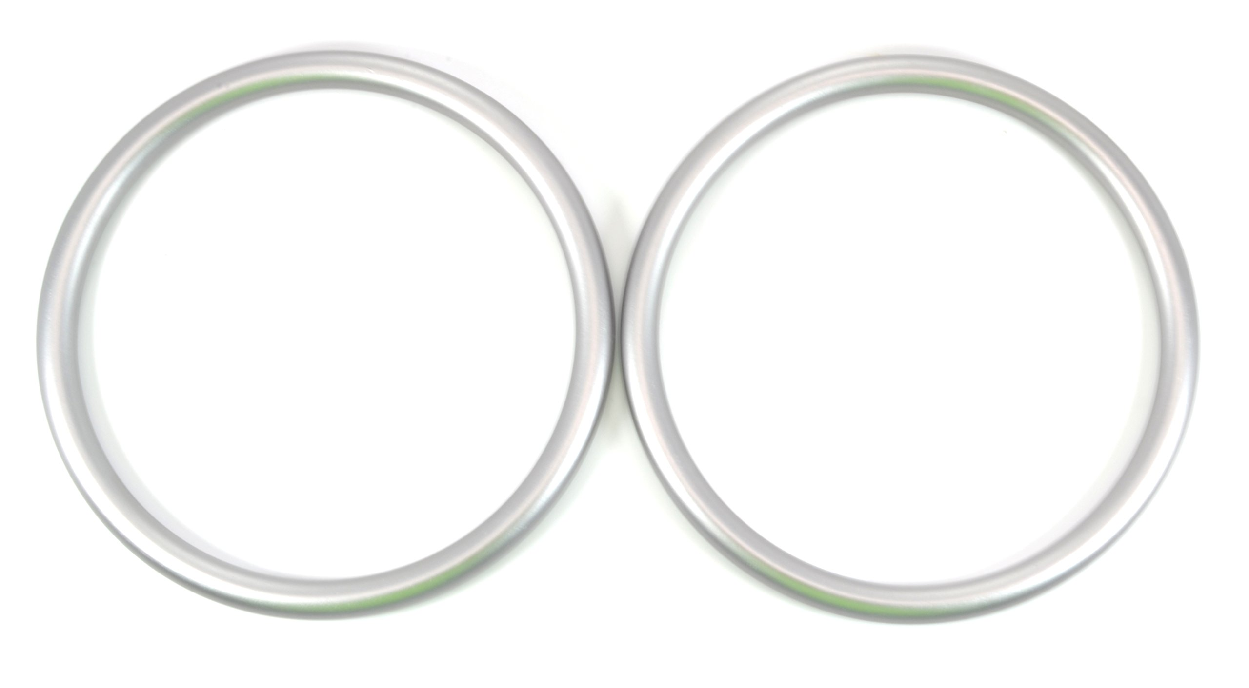 Roo Threads 3'' Aluminum Rings for Baby Slings, Silver