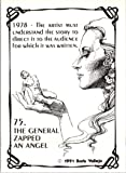 1991 Boris Vallejo #75 The General Zapped an Angel