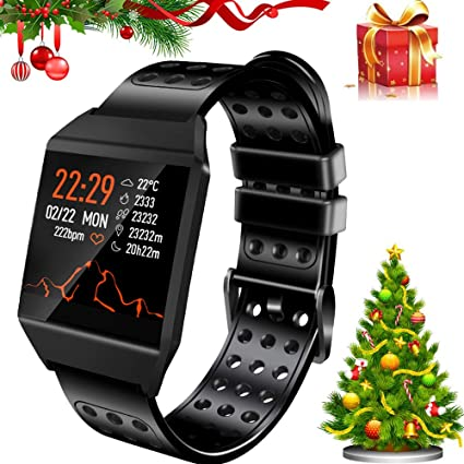 Beaulyn Smart Watch Waterproof, 7 Sport Modes, Fitness Tracker with Heart Rate Monitor Sleep Monitor Calorie Pedometer, Activity Tracker Compatible ...