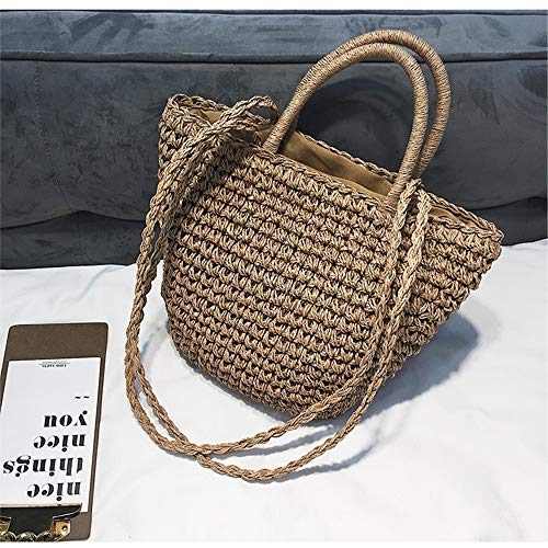 mochila Bolso Marrón para talla única MENGMA mujer F7Oxqxp