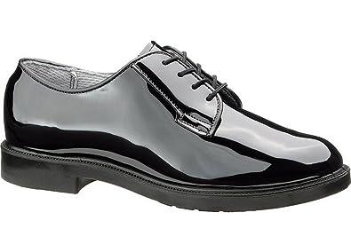 ba1f21eac0 Amazon.com   Bates 743 Womens High Gloss Uniform Oxford Shoe   Oxfords