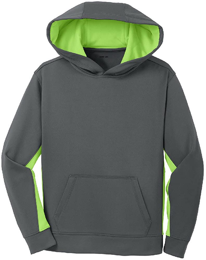 Joe's USA Youth Moisture Wicking Athletic Hoodies - Hooded Sweatshirts in Youth Sizes XS-XL USAL2358112015717