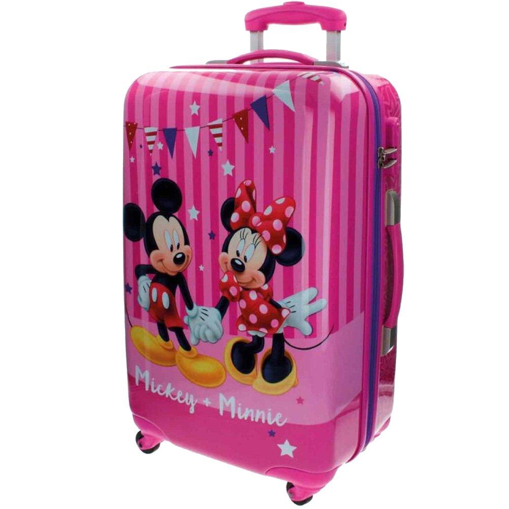 Disney Koffer Mickey und Minnie Kindergepäck, 53 Liter, Rosa