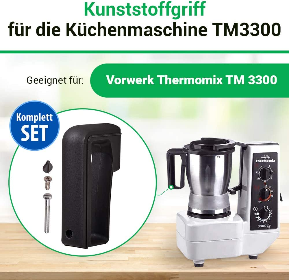 Vorwerk Thermomix handle for the kitchen machine TM3300 spare parts accessories: Amazon.es: Hogar