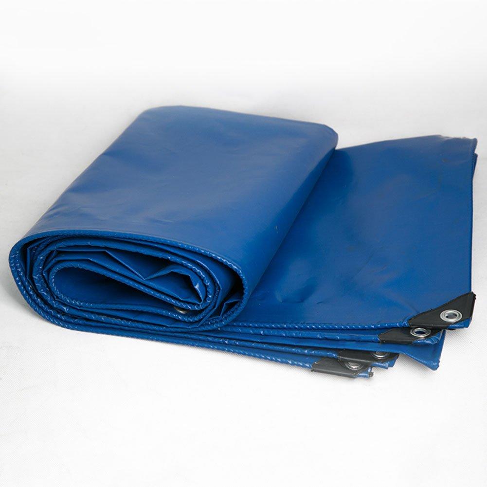 YJLGRYF 防水ターポリンシート厚手雨布日焼け止め防塵リノリウムトラック小屋布の厚さ0.43 mm、-450 g/m 2、8サイズ (サイズ さいず : 6x7m) 6x7m  B07RBPSWL3