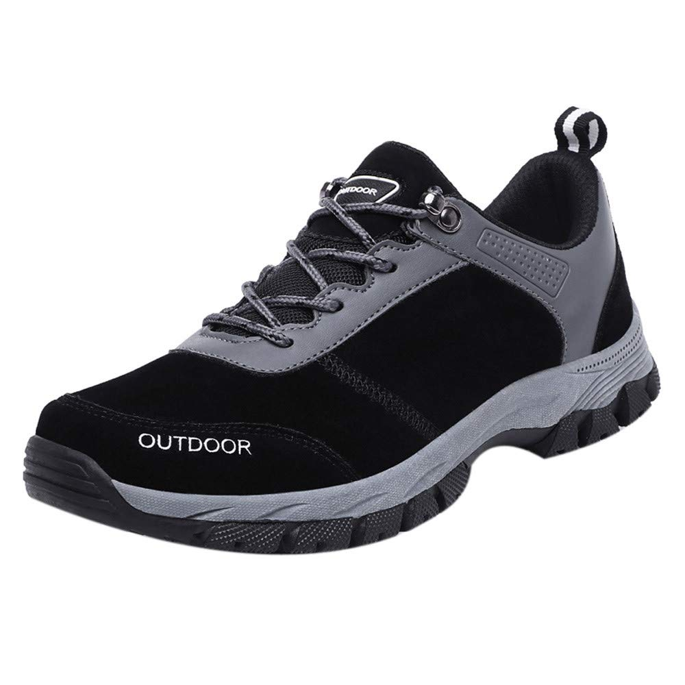 Dacawin Outdoor Men Running Sports Shoes Non-Slip Hiking Shoes Casual Walking Sneakers by Dacawin