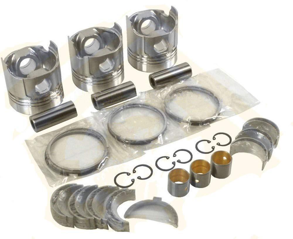 NEWTRY Engine Rebuilt Kit for Yanmar 3TN84E-RK 3TN84L-RB