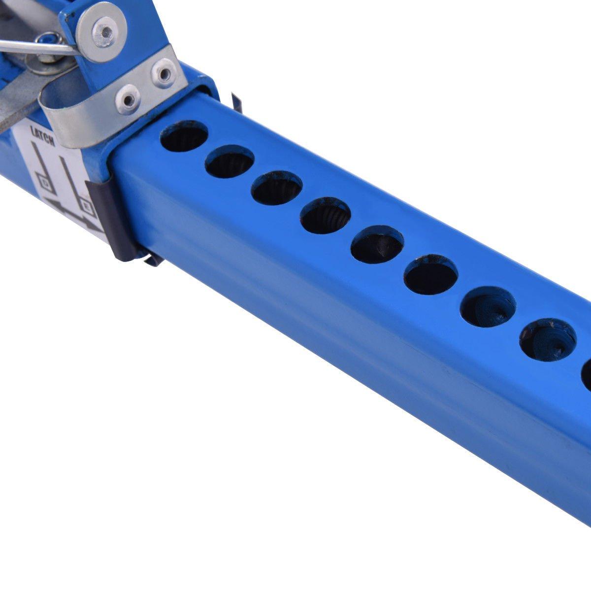 Goplus Wheel Dolly Car Skates Vehicle Positioning Hydraulic Tire Jack, 1250 lb (Blue) by Goplus (Image #8)