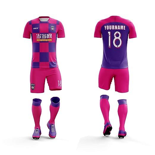 hot sale online 23866 fc5b1 ORKY Customize Soccer Jersey Short Men Kids Personalized Name Number  Croatia National Color Football Team Uniform