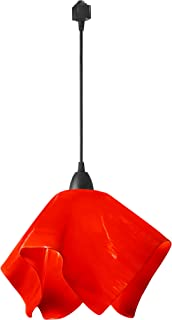 product image for Jezebel Radiance JRBL-FP16-RER-TRBL Black Flame Track Light, Large, Fiery Red