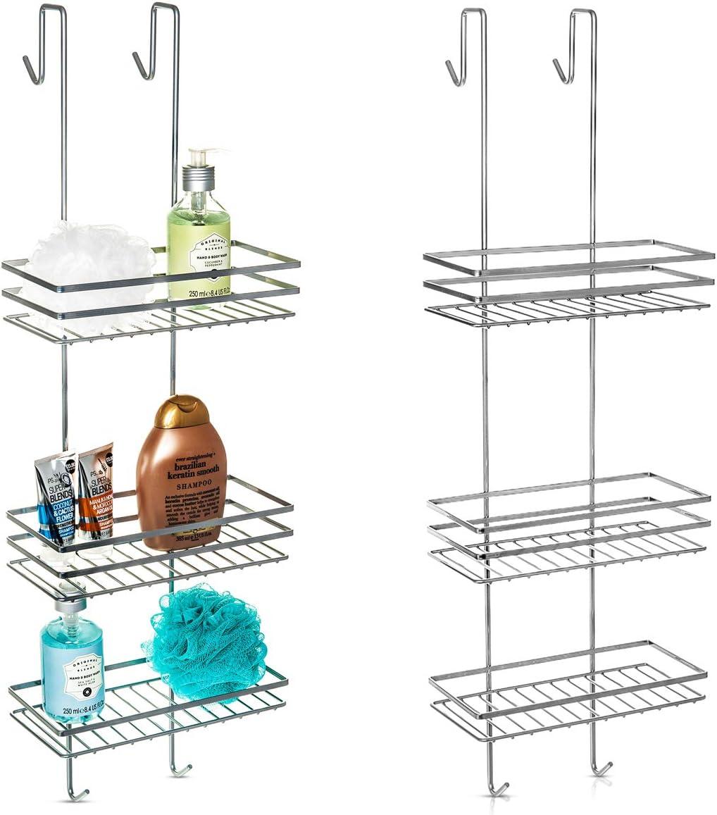 Bon The bathroom  Suction Cup Corner Shelf Shower Basket Caddies Rack Home Tool