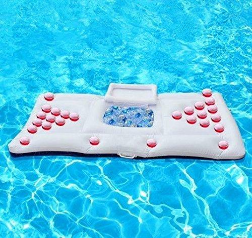 Mesa de cerveza hinchable tabla de piscina flotante para la ...