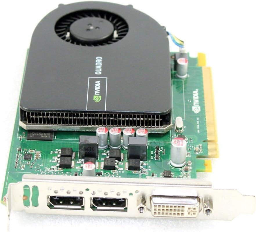 Dell Ggmpw NVIDIA quadro 2000/1/GB GDDR5/PCI-E Graphics card Dual display port DVI
