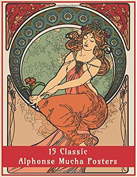 - 15 Classic Alphonse Mucha Posters: An Art Nouveau Coloring Book (Fantasy Art  Colouring Books): Design Co, Enchanted: 9781908567567: Amazon.com: Books