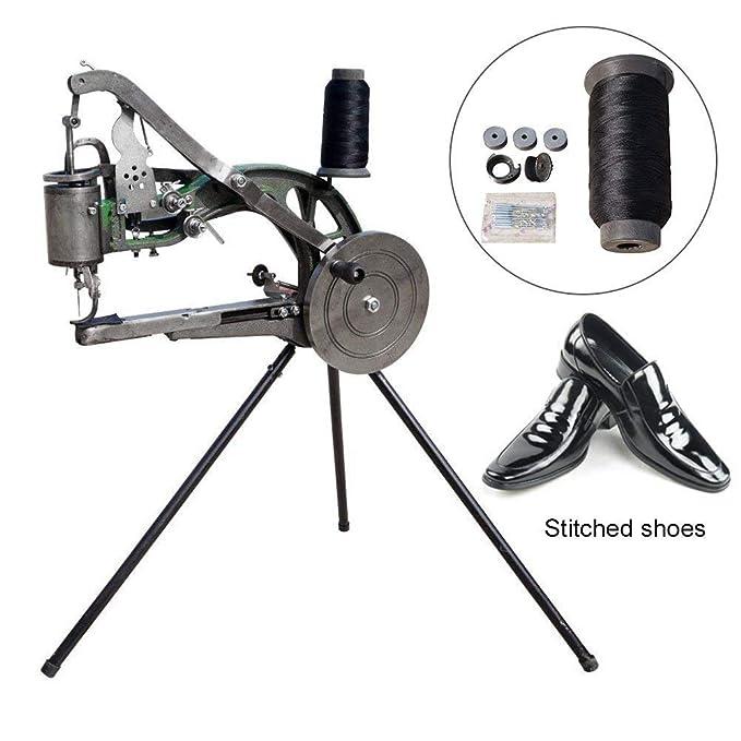Máquina De Reparación De Calzado Manual De La Máquina De Coser-Algodón Nylon Línea Máquina De Coser: Amazon.es: Hogar