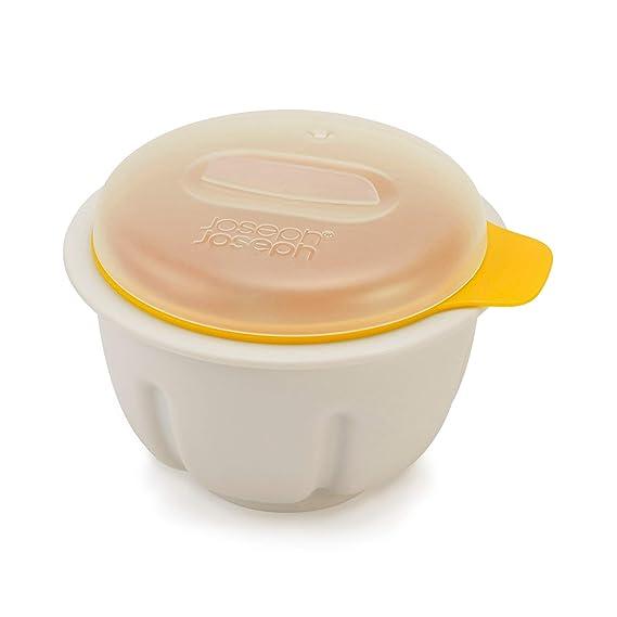 Joseph Joseph 20123 M-Poach Microwave Egg Poacher, One-size, White/Yellow