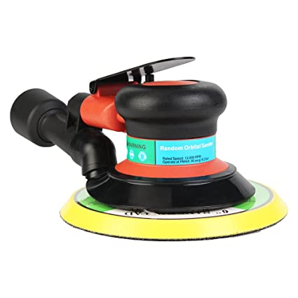 6 Inch Air Palms Orbital Sander Random For Palms Sander 150mm Dualable Action Auto Body Orbit Da Sanding Hand Sanding Pneumatic Sale Price Polishers