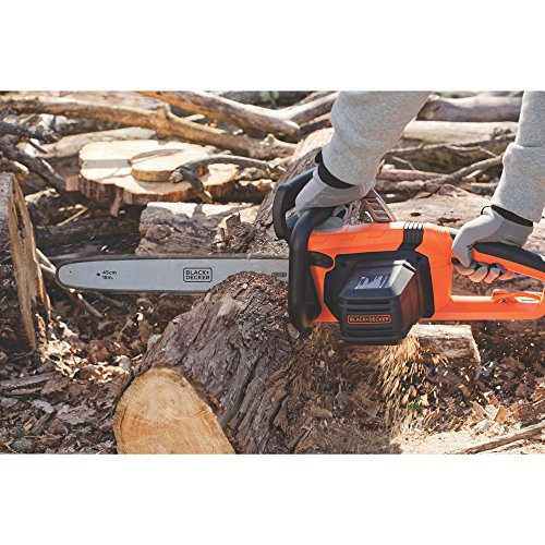 BLACK DECKER CS1518 15 Amp Corded Chainsaw 18 Inch decent Price