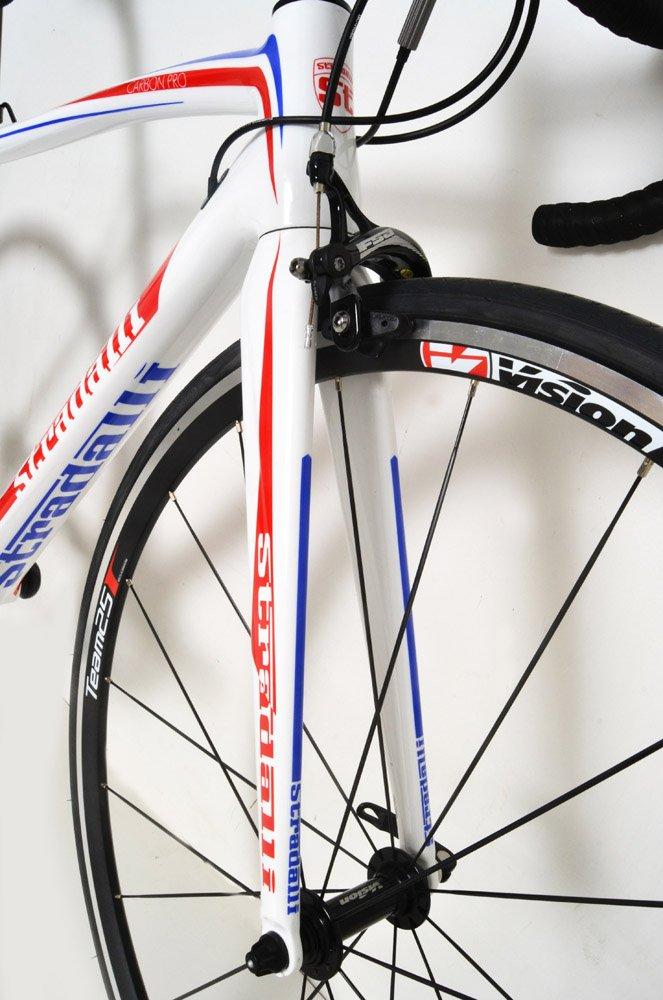 34feb0eaa17 Amazon.com : Stradalli Carbon Pro Sport Road Bike. Shimano Ultegra 8000 11  Speed. Vision Team 25 Aluminum Clincher Wheel Set. : Sports & Outdoors