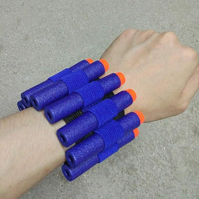 Weiches Armband f/ür Das Handgelenk f/ür Nerf N-Strike Elite Series Blasters Isuper Balls 2 St/ück Spielzeugpistole Zubeh/ör aus Eva-Schaum