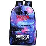 Stranger Things Backpack, Student School Book Bag Laptop Backpack Casual Traveling Daypack Bookbag for Boy Kid Girl (1)