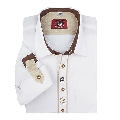 Orbis Chaqueta de Punto Manga Camisa Tradicional Blanca XXL, 45/46-55/56:45/46: Amazon.es: Ropa y accesorios